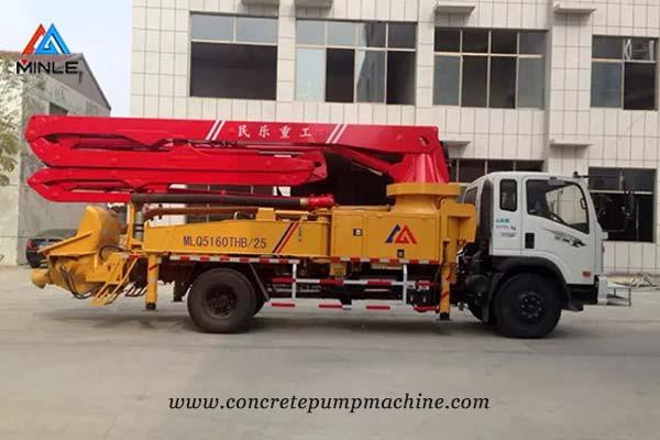 Concrete Boom Truck