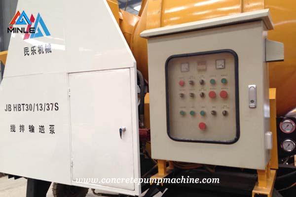 Concrete Mixer Pump Controller