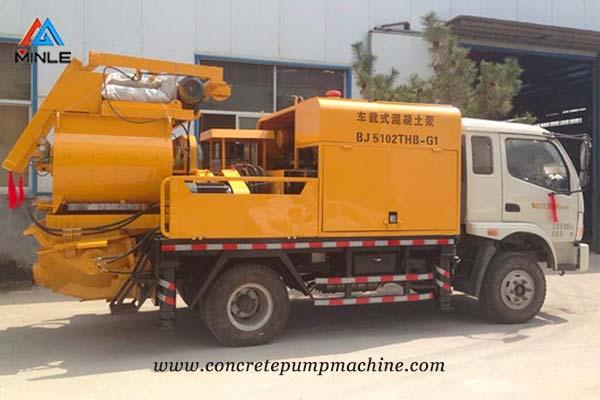 Concrete Mixer Pump Truck Price