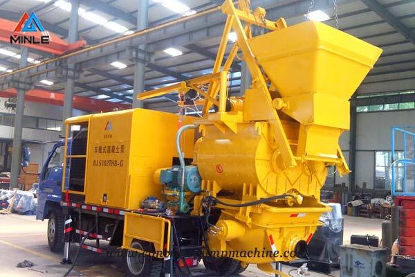 Concrete Mixer Pump Truck for sale