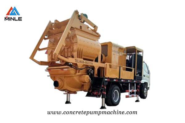 Concrete Mixer Pump Truck