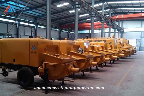 Concrete Pump Trailer factory