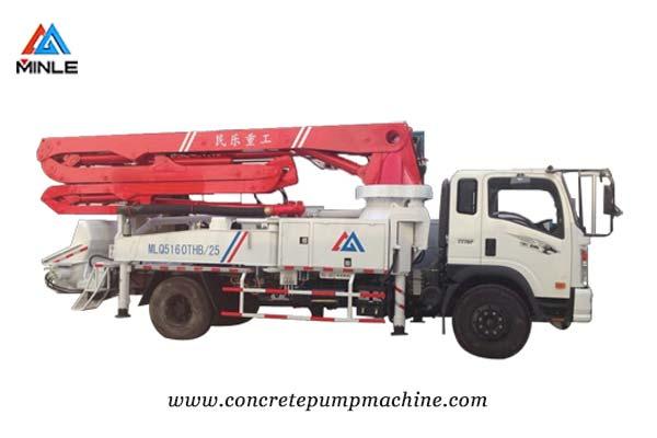 Concrete pump Truck Price