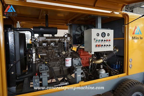 Diesel Concrete Pump Trailer for sale