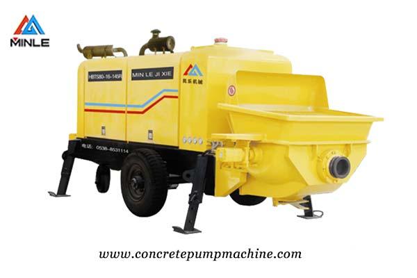 Electric Concrete Pump Trailer Price