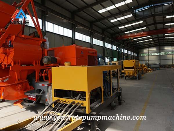 Electric Concrete pump factory