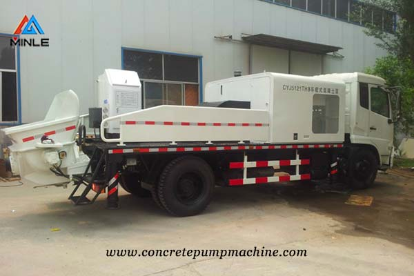 Truck Mounted Concrete Pump Price