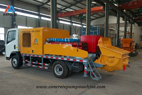 Truck Mounted Line Pump factory