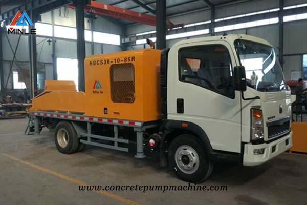 Truck Mounted Line Pump Concrete Pump Concrete Boom Pump