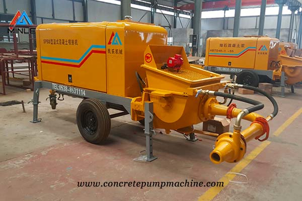 Wet Shotcrete Machine price