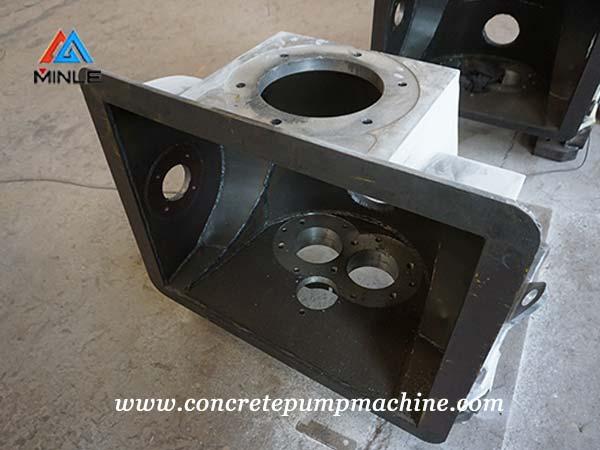 concrete pump machining