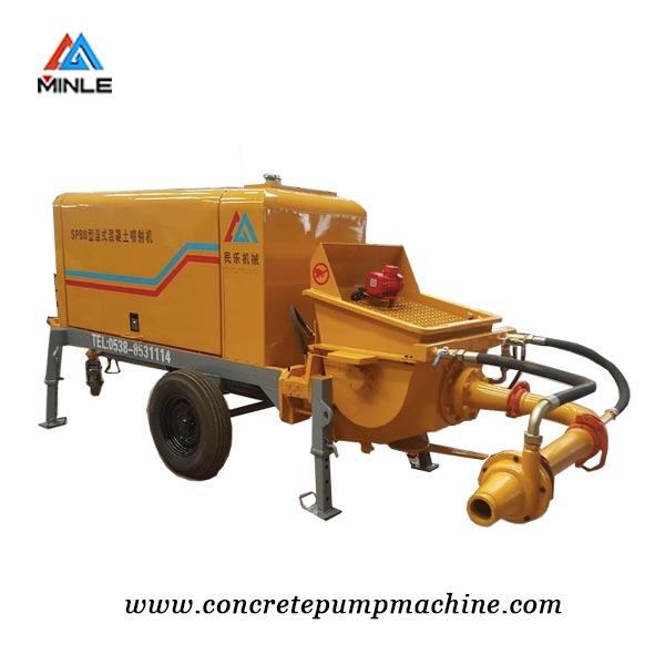 high quality wet shotcrete machine for sale