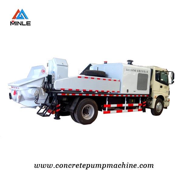 truck mounted line pump - concrete pump machine