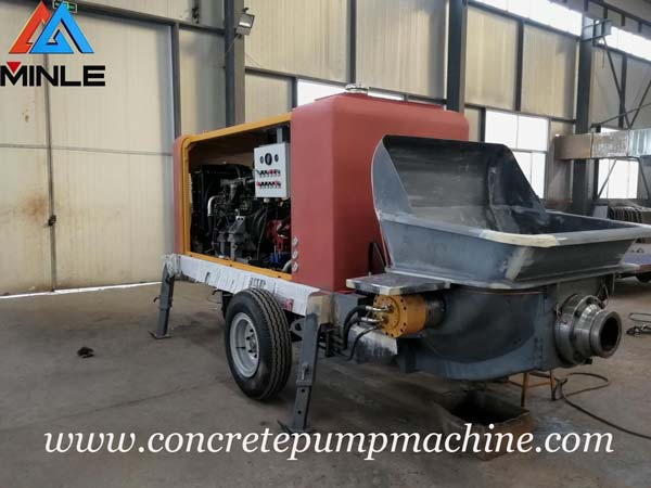 Chadian Customer Will Visit Our Factory and Place A New Order for Portable Concrete Pump Machine