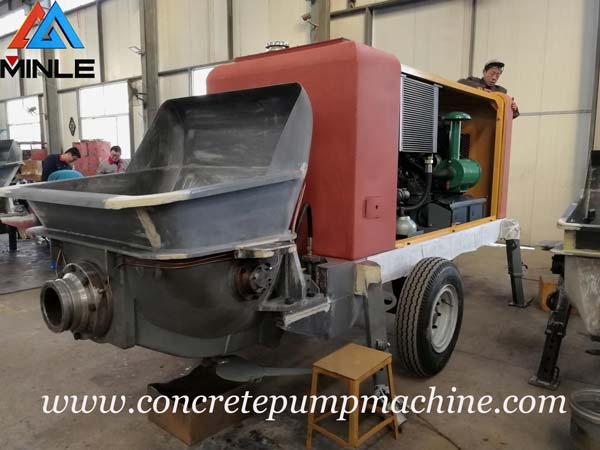 Chadian Customer Will Visit Our Factory and Place A New Order for Portable Concrete Pump