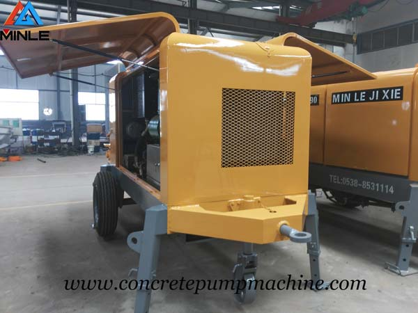 Concrete Pump Trailer was Exported to Philippines