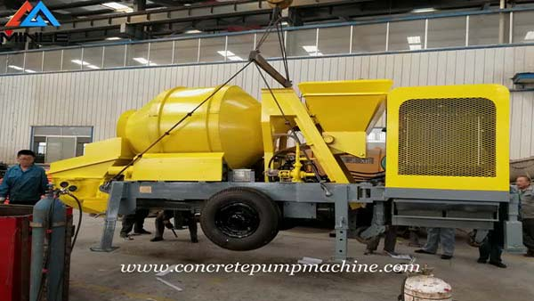 Concrete Mixer Pump was Exported To Philippines