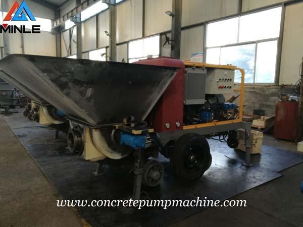 Four Sets Concrete Pump were Exported to Vietnam