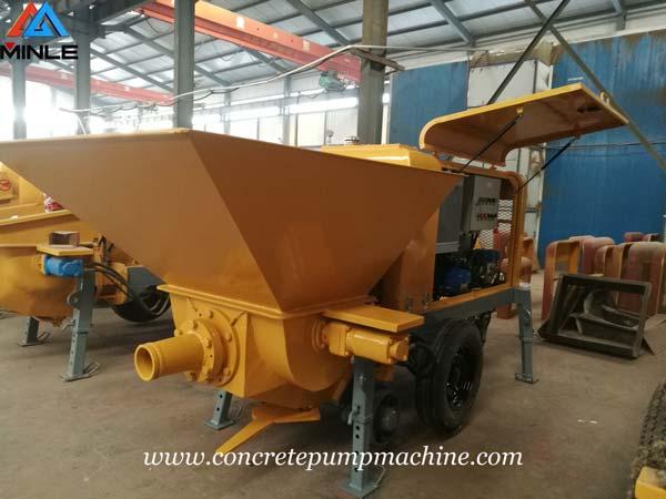 Four Sets Mining Concrete Pump Machine were Exported to Vietnam