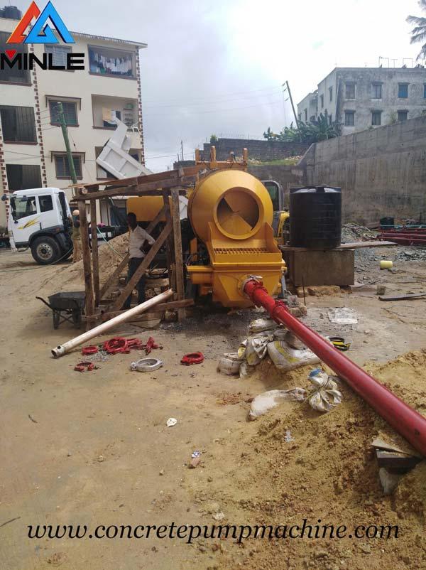 After Sale Service of Concrete Mixer Pump Machine