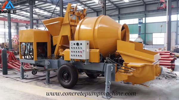 Concrete Mixer with Pump Was Exported to Philippines