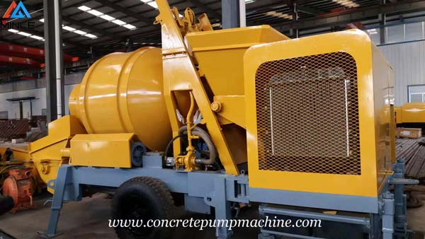 Diesel Concrete Mixer with Pump Machine Was Exported to Philippines