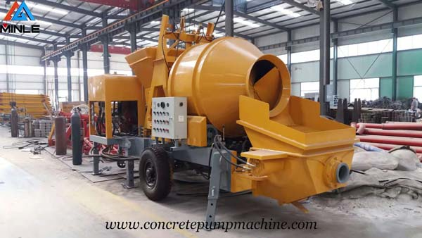 Diesel Concrete Mixer with Pump Was Exported to Philippines