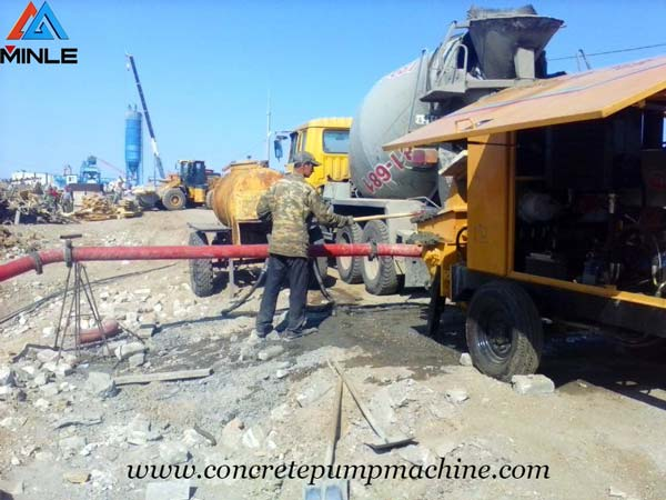 How to Maintain Concrete Pump Trailer