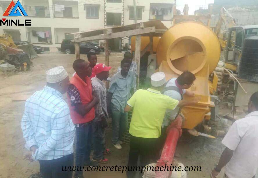 Why concrete mixer pump is more popular for foreign clients