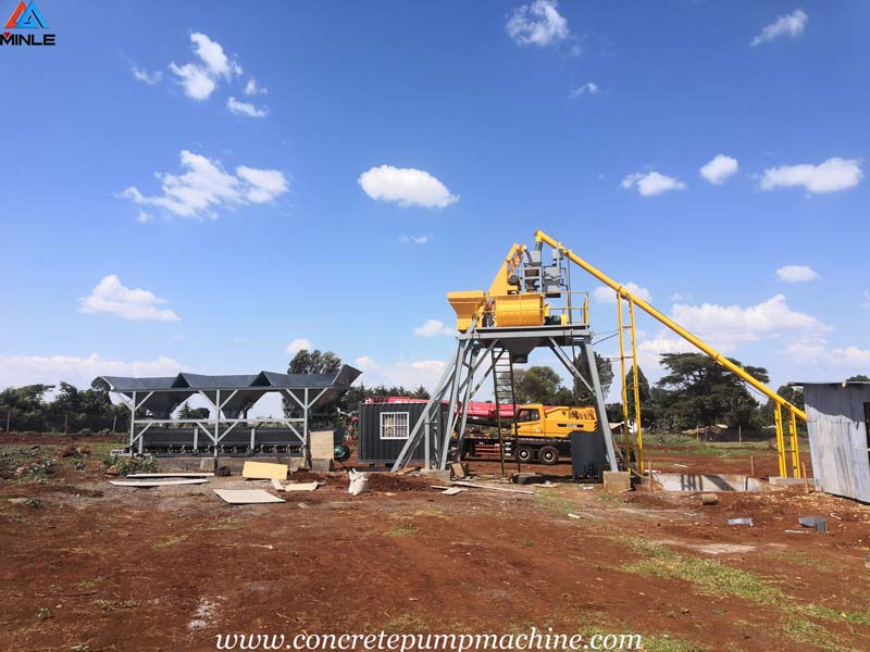 Concrete Pump Was Exported to THAILAND