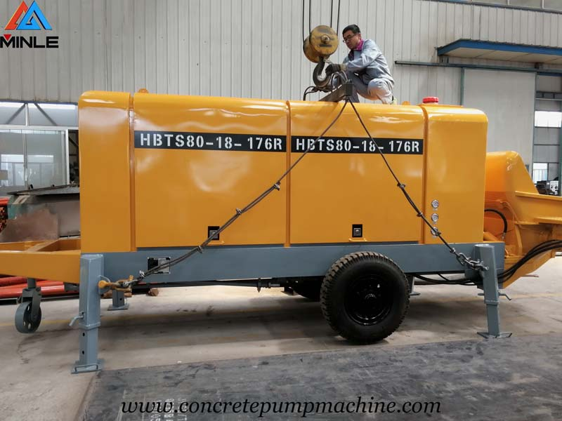 Concrete Pump for Building in Indonesia