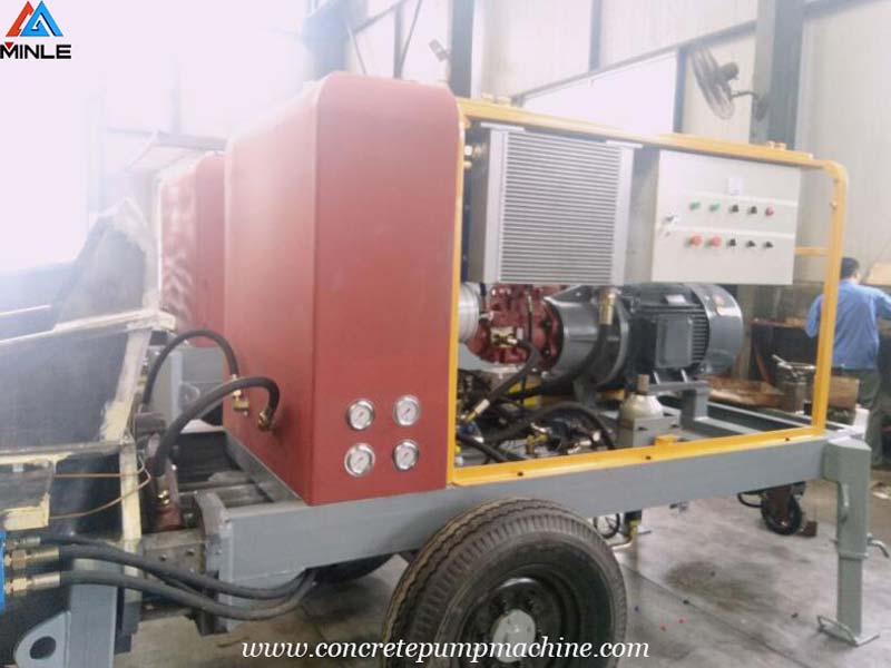 Electric Concrete Pump was Exported to Russia