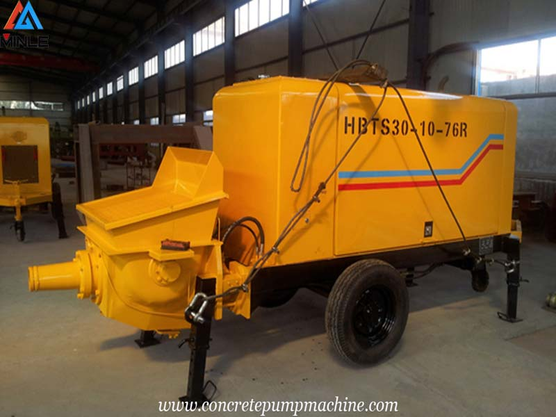 Trailer Concrete Pump Was Exported to THAILAND