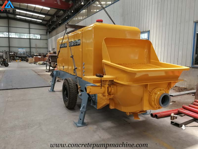 60 Cubic Meters Per Hour Trailer Concrete Pump for Sale in Philippines