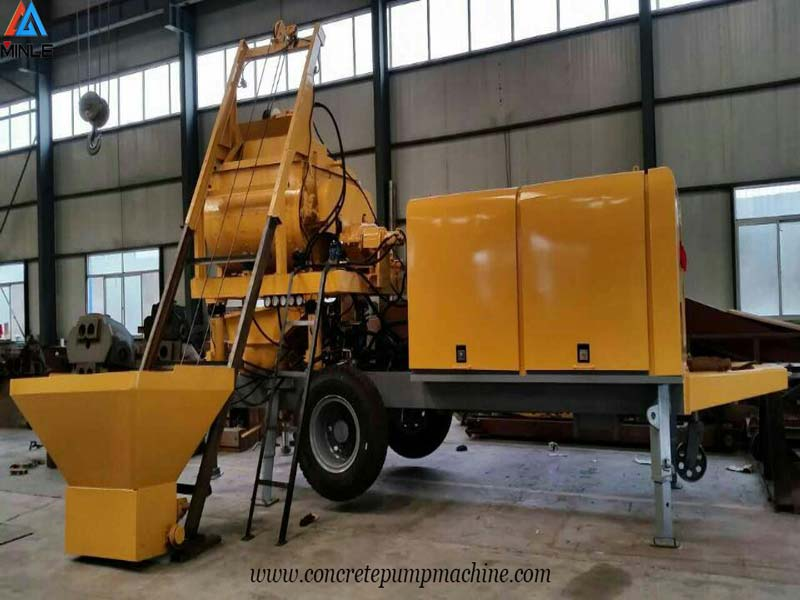 Concrete mixer Pump Diesel Engine Delivery to Philippines