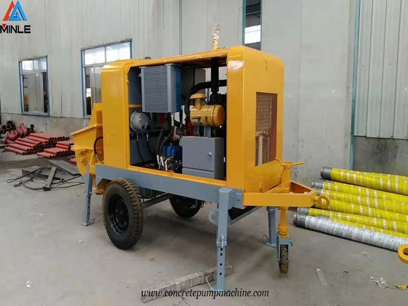 Mobile Concrete Pump to Philippines