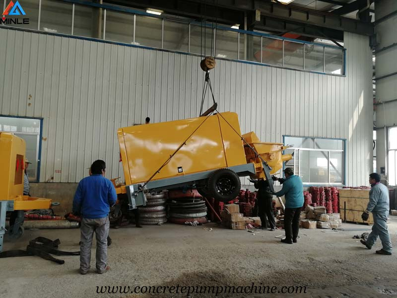 Mini Shotcrete Pump Was Exported to Colombia