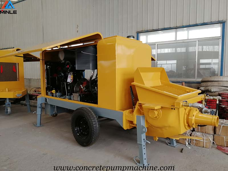 Shotcrete Pump Was Exported to Colombia